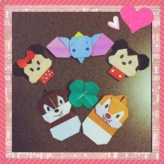 ハート 折り紙 折り紙 折り方 キャラクター ディズニー : origamipaper.blog.fc2.com