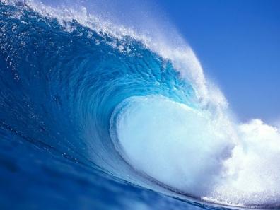 こんな波に巻き込まれたい