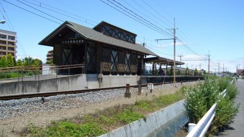 秩父鉄道 ひろせ野鳥の森駅 かわいい駅舎です。