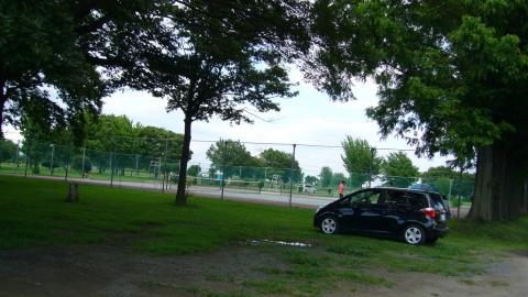 吉見総合運動公園はテニスコート等もあります(有料)。