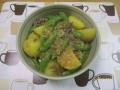 ジャガイモのピリ辛煮1