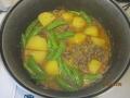 ジャガイモのピリ辛煮7