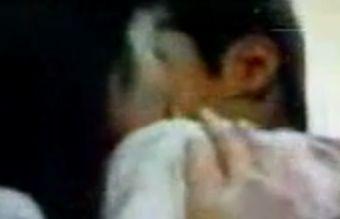 【菊池桃子】野外で熱烈キスをするラブシーン
