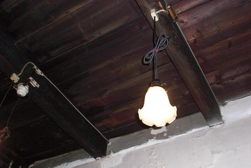 金魚カフェ 天井