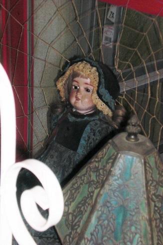 金魚カフェ お人形