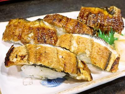 鰻のにぎり寿司