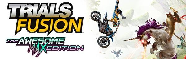 PS4 トライアルズフュージョン オーサムマックスエディション TRIALSFUSION バイクゲー エキサイトバイク