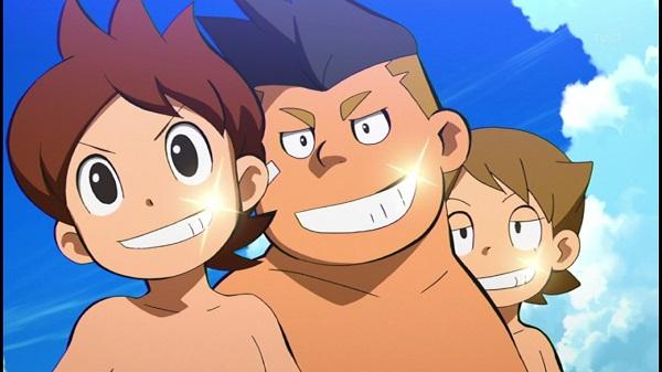 ゲームアニメ 妖怪ウォッチ アニメ 79話 水着回 フミちゃん グレるりん