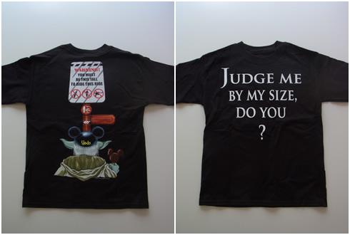 ヨーダのTシャツ
