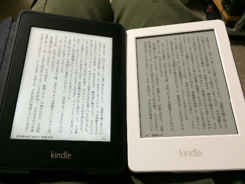 kindle and paper white
