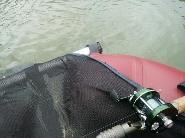 台風一過のA池