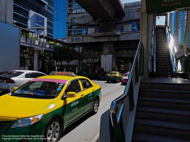 タイの駅前