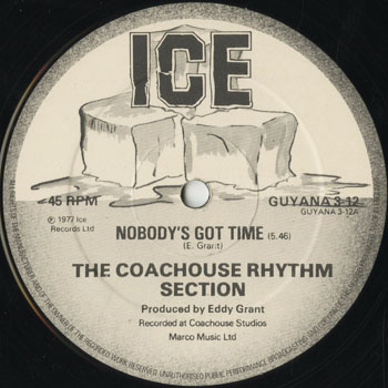 DG_COACHOUSE RHYTHM SECTION_NOBODYS GOT TIME_201507