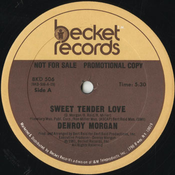 DG_DENROY MORGAN_SWEET TENDER LOVE_201507