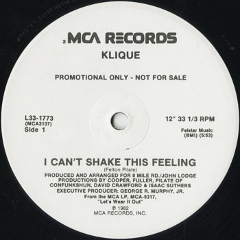 DG_KLIQUE_I CANT SHAKE THIS FEELING_201507