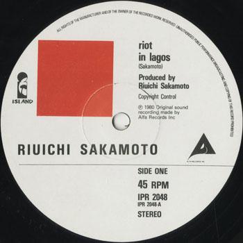 DG_RYUICHI SAKAMOTO_RIOT IN LAGOS_201507