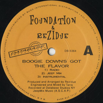 HH_FOUNDATION and REZIDUE_BOOGIE DOWNS GOT THE FLAVOR_201507