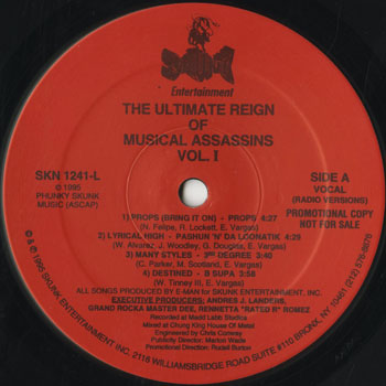 HH_VA_ULTIMATE REIGN OF MUSICAL ASSASSINS VOL I201507