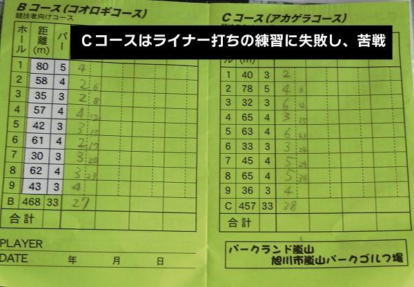 s-旭川嵐山PG スコア (0)