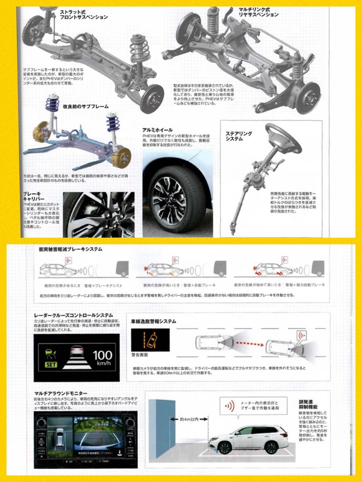 モーターファン別冊 新型アウトランダーPHEV改良ポイント2015