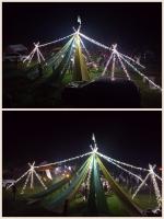 三菱スターキャンプ2015 ライトアップ