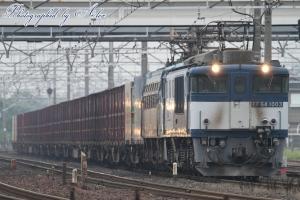 3091レ(=EF64-1003+EF66-111牽引)