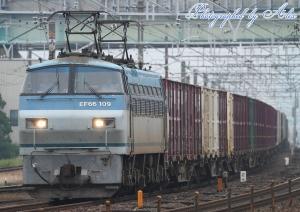 5073レ(=EF66-109牽引)