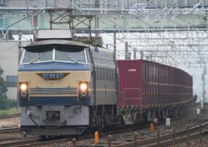 1255レ(=EF66-27牽引)