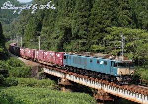 3084レ(=EF64-1006牽引)