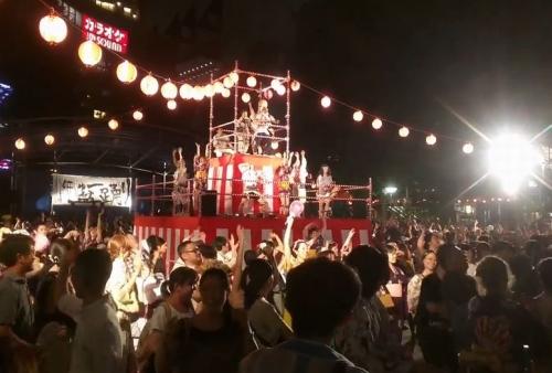 にゅ~盆踊り 2015