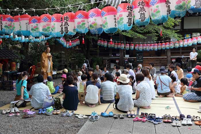 吉田寺 地蔵盆1