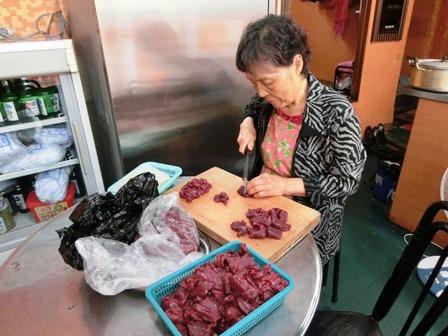 「チャンウォン食堂」ムンティギ②