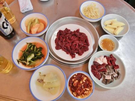 「チャンウォン食堂」ムンティギ⑨