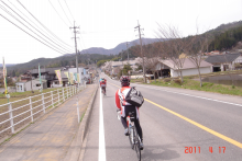 突然にプチメタライダーのサイクリング日記-帰り1
