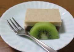 18)黒糖とお豆腐のデザート2