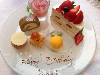 マキ48BオリエンタルホテルメインダイニングBDケーキとデザート