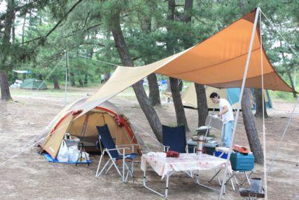鳥取砂丘キャンプ