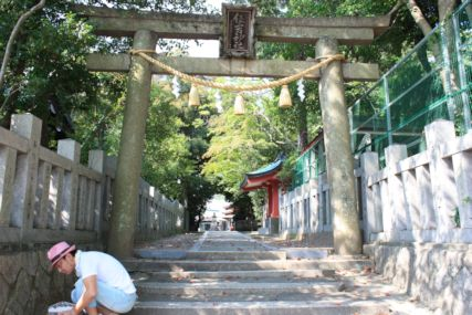 住吉神社入口