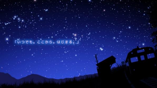 見上げてごらん、夜空の星を