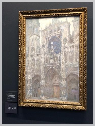 モネの描いたルーアン大聖堂