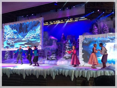アナ雪のショー (2)
