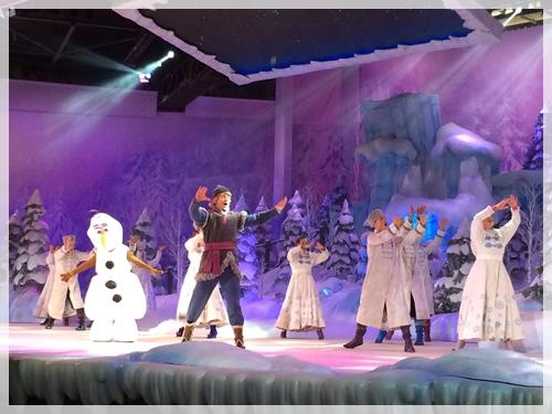 アナ雪のショー