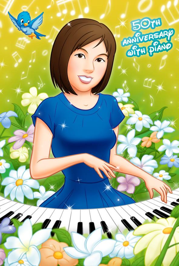 ピアノウェルカムボード150808