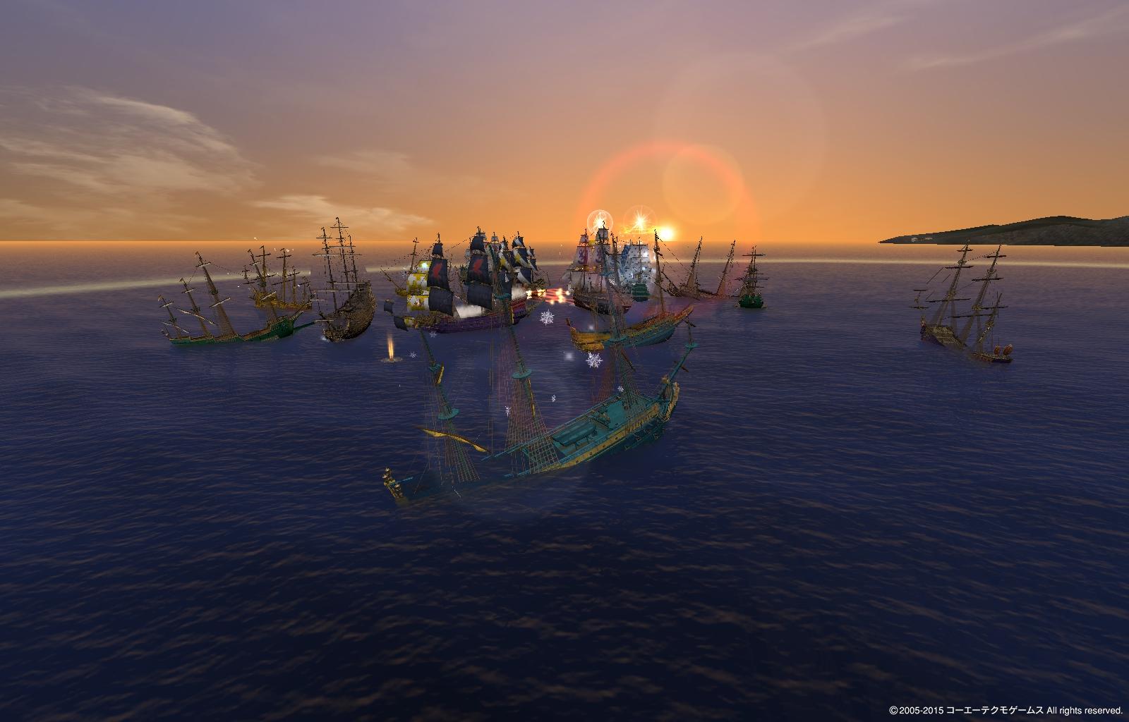 イスパ模擬・夕日が綺麗