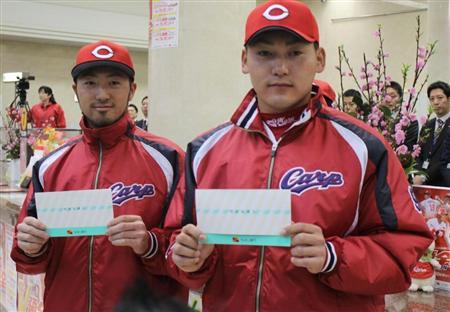 【野球ネタ】堂林→183cm 堂上直→184cm 鵜久森→189cm