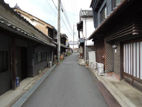 吉野町の街並み