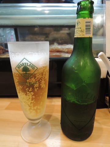 瓶ビール(ハートランド)(500円)
