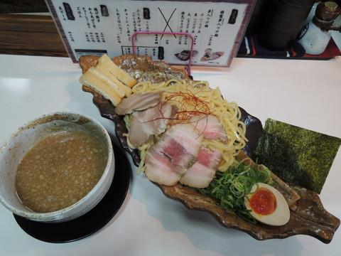 特製夢人つけ麺(1050円)