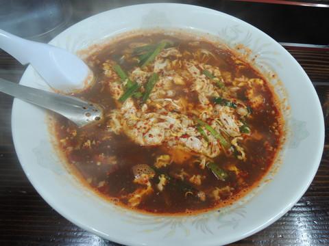 辛麺(5辛、レギュラー、中華麺)(800円)