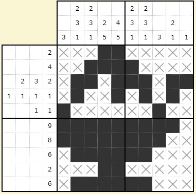 ビッグローブビンゴ2015夏お絵かきパズル答え